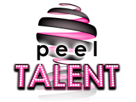 PEEL Talent logo pink